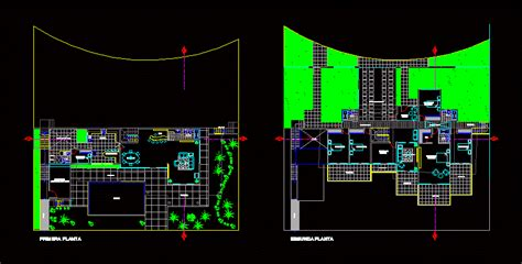 beach house  dwg design block  autocad designs cad