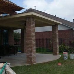 houston custom patio builders 25 photos contractors