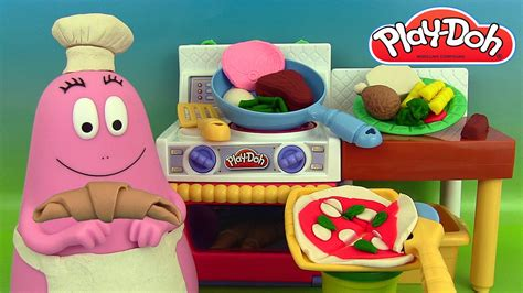 p 226 te 224 modeler le cuistot play doh meal makin kitchen play doh barbapapa