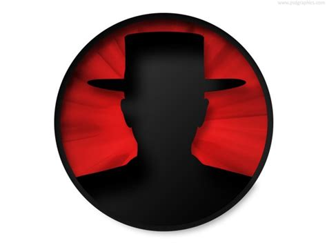 identity theft icon psd psd  file