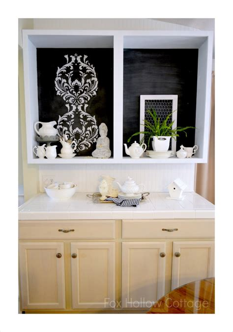 kitchen cabinet stencils how to stencil with chalk tips to get it right fox 2784