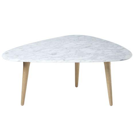 table basse effet marbre table basse fifties marbre edition voltex