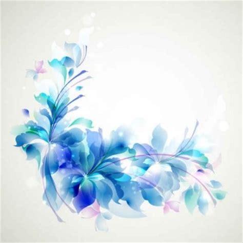 vector elegant blue flower background vector art ai svg