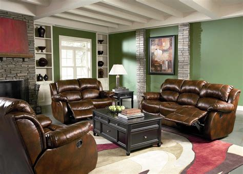 Living Rooms With Leather Sofas Latest Green Leather