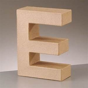cardboard letter 39e39 3d paper mache craft free standing With where to buy large paper mache letters