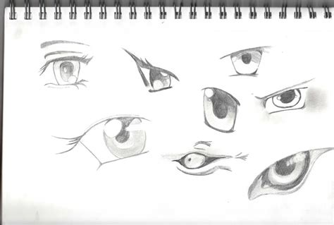 Anime Eyes By C-o-r-g-i On Deviantart
