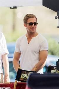 Ryan Gosling looked good in a tight, white t-shirt while ...