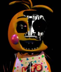 Withered Chica Toy