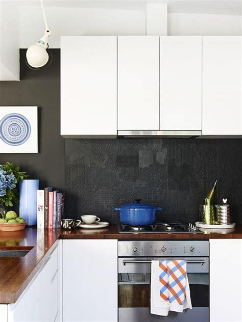 black tiled splashbacks for kitchens 40 sensational kitchen splashbacks renoguide 7909