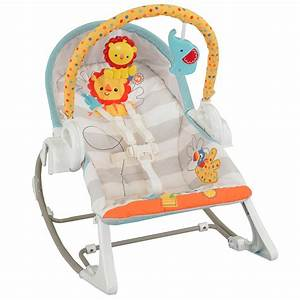 NEW Fisher Price 3-in-1 Swing-n-Rocker Musical Baby Swing ...