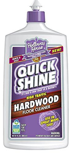 Quick Shine 12080027u Hardwood Floor Cleaner High Traffic