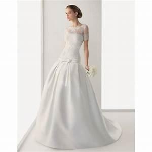 rosa clara backner superbes robes de mariee pas cher With robe de marie avec bijoux pas cher or