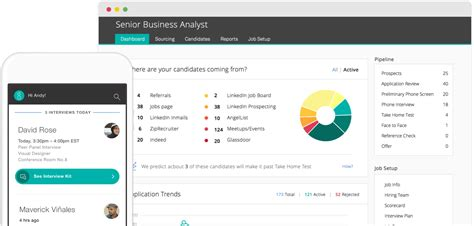recruiting software applicant tracking system greenhouse