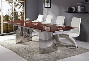 Chaise Salle A Manger Blanche. emejing table a manger blanche ...