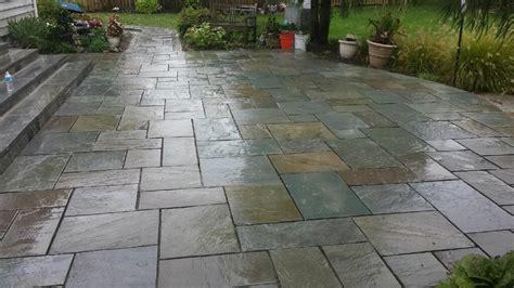 flagstone patios walkways american exteriors masonry