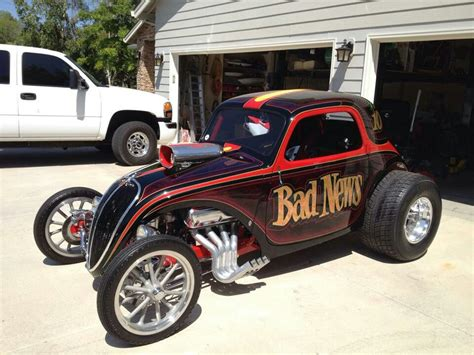 Fiat Drag Car by Bad News Topo Altered Nostalgia Altereds Cars