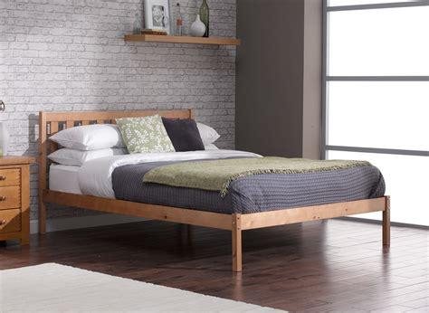 sandhurst bed frame pine wooden dreams