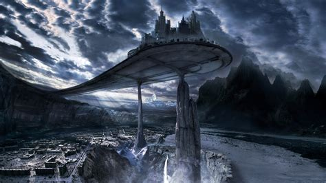 digital art fantasy art futuristic video games