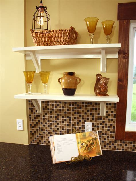 How To Build Open Kitchen Shelving How Tos Diy