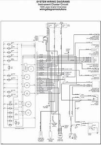1995 Jeep Grand Cherokee U0026 39 S Instrument Cluster Circuit Wiring Diagram