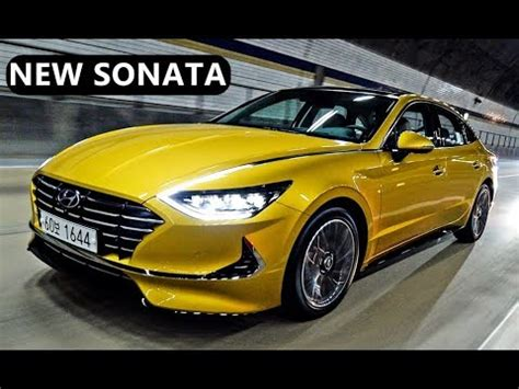 2020 Hyundai Sonata Yellow by All New Hyundai Sonata 2020