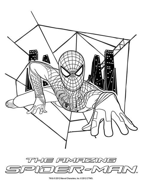 Kleurplaat Homecoming by Amazing Spider 3 Coloring Pages Coloring Page