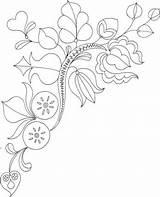 Riscos Bordar Blaetter Zweig Malvorlage Supercoloring Colorare sketch template