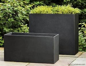 Fusion, Collection, Tall, Rectangular, Planters