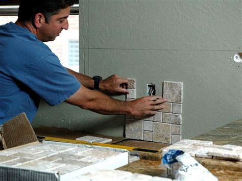 Kitchen Backsplash How To Install by How To Install A Kitchen Backsplash