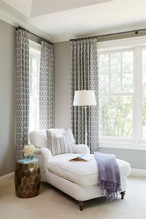chic bedroom reading corner  filled   white roll
