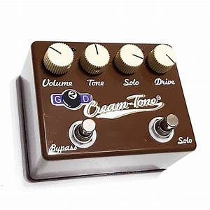 G2d Cream Tone Overdrive Guitar Pedal