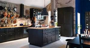 Deco Cuisine Ikea : la cuisine ouverte inspire les collections ikea et castorama ~ Teatrodelosmanantiales.com Idées de Décoration