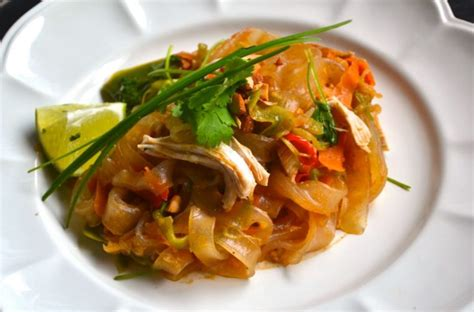 healthy pad thai thefrypans