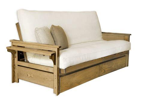 futon bed frames ottawa oak futon frame futon d or