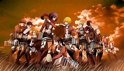 Titan Attack Kyojin Shingeki Squad Anime 104th