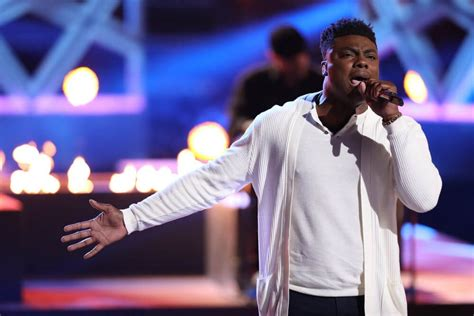 kirk jay last night performance the voice recap top eight contestants compete for final