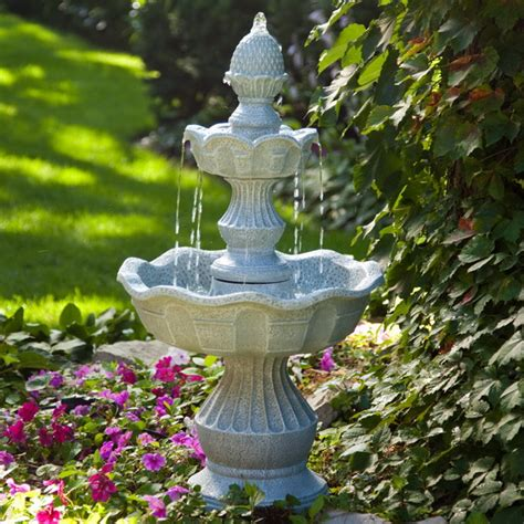 pictures of water fountains in gardens marvelous garden fountains ideas 2 water garden with