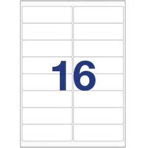 80 Labels Per Sheet Template Printer Labels 16 Per A4 Sheet Equivalent To Avery L7162 J7162