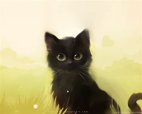 Cat Anime Wallpaper - beautiful cat painting wallpapers hd of cat