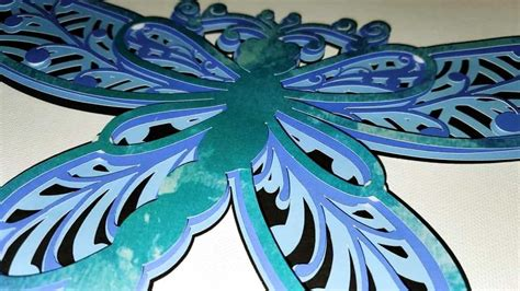 I think projects would look beautiful with just a few of the layers. 3D Mandala Layered Design | Dragonfly Mandala SVG file ...