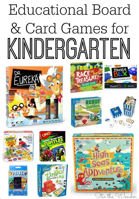 educational board and card for kindergarten stir 888 | Games for Kindergarten