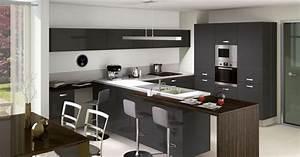 Modele De Cuisine Cuisinella : cuisine laqu e par cuisinella ~ Premium-room.com Idées de Décoration