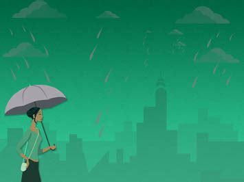 monsoon rains  powerpoint templates