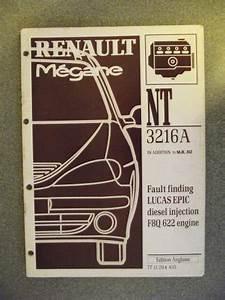 Renault Megane Fault Finding Lucas Epic F8q622 Diesel