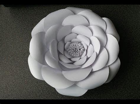 adeline giant paper flower youtube