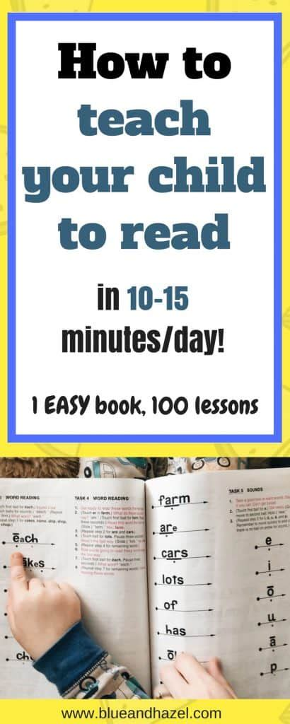 teach your child to read in 100 easy lessons a no prep 717 | How to teach your child to read in 10 minutes a day 410x1024