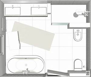 Plan Salle De Bain 4m2 : exemple de plans de grandes salles de bain avec image 3d ~ Nature-et-papiers.com Idées de Décoration