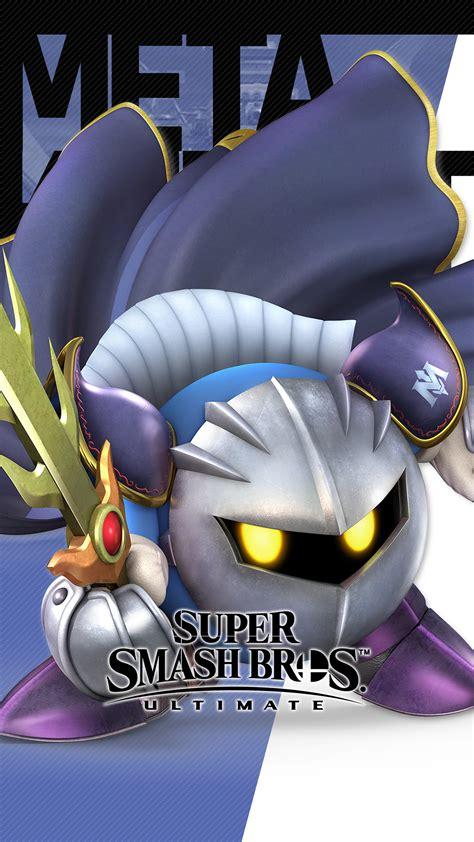 super smash bros ultimate meta knight wallpapers cat  monocle