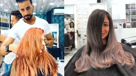 hair transformation compilation  professional