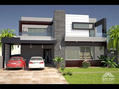 Architect Design 10 Marla House Design In Lahore  Youtube